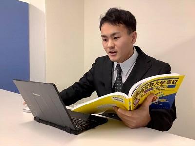 佐藤佑亮先生 北海道大学医学部3年生、旭川東高等学校出身