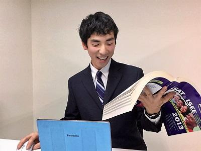 北海道大学経済学部2年生、Livingston High school出身中山祐規(なかやまゆうき)先生
