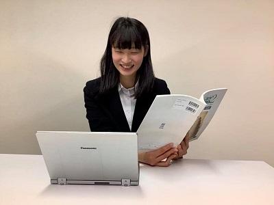 帰国子女枠中学・高校入試、帰国子女枠編入試験を担当する、北海道大学医学部の市川芽生(いちかわめい)先生です。