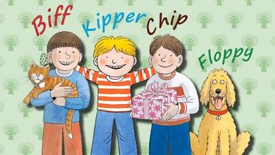 教科書に登場する、Biff, Chip, Kipper